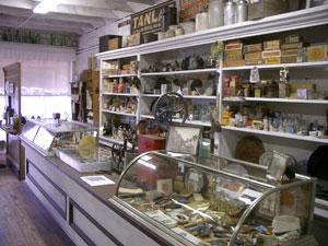 inside the Pioneer Store Museum